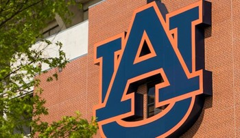 Interlocking AU university logo