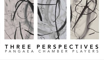 CD cover for the new release by the Pangaea Chamber Players trio